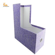 Fashionable Office Desk Document Magazine Paper Cardboard Document File Holder