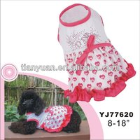Professional manufacture pet clothes for small dog