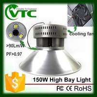 High Luminous Gas station Parking Lots 50W 120W 150W LED Canopy light with CE RoHs certified