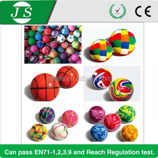 Super quality new products 45mm vending machine bouncing ball