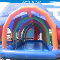 wholesale inflatable swimming pool with tent