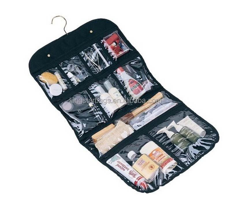 Hanging Cosmetic Bag Grooming Hanging Travel Toiletry Bag