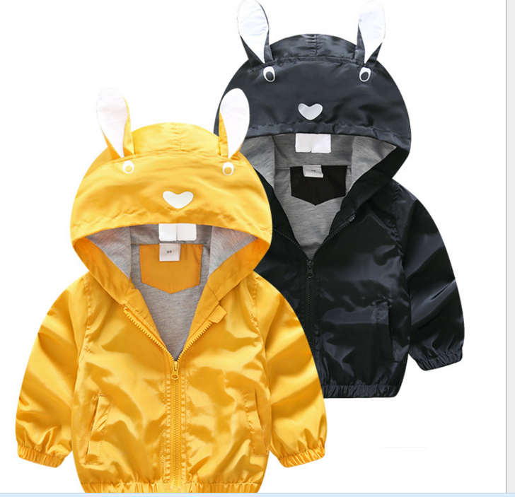 2017 fall new private label printed children coat jacket baby men and women windbreaker
