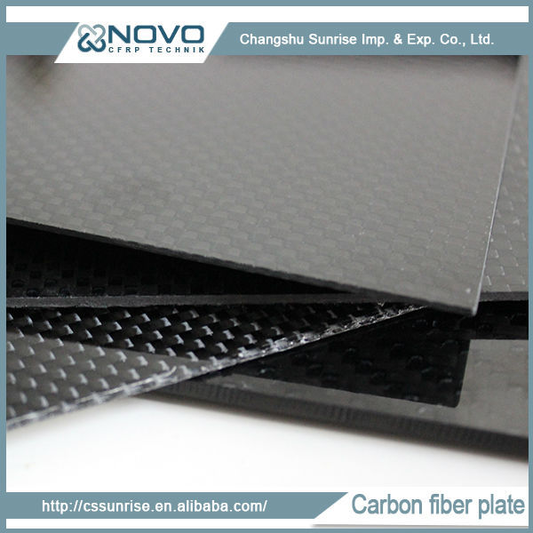 Glossy Twill Surface 3K cfrp/cfp plate