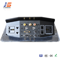 JS-7series Office multimedia video interface power connector table outlet