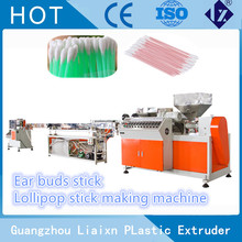 Plastic ear buds stick making machine