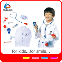 Plastic Funny Kids Playing Doctor Stories