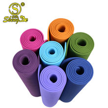 2017 yoga mat printed logo, bulk yoga mat roll, 6mm rubber yoga mat