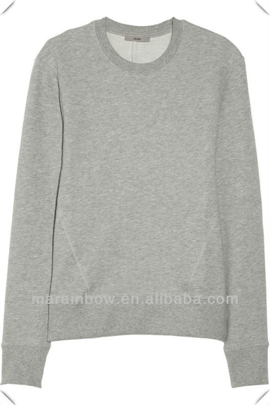 Hot Sale Oem Classic Plain 100% Cotton Women's Sweatshirts Without ...
