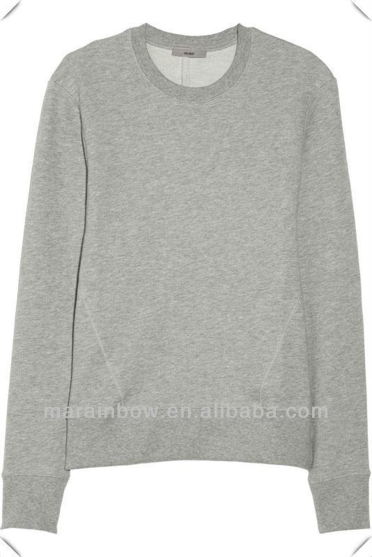 Hot Sale Oem Classic Plain 100% Cotton Women's Sweatshirts Without ...