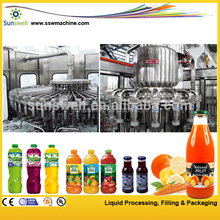 Complete Fruit Juice Processing Line / / Milk Filling Machine