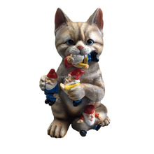 home figurines cat decoration crafts resin