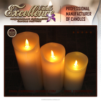 hot sale flickering flame flameless moving wick led candle Light