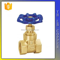 LINBO-C9324 3 6 5 8 inch copper ms58 pn16 class 900 800 extended body screw bonnet double dn15 forged brass gate valve