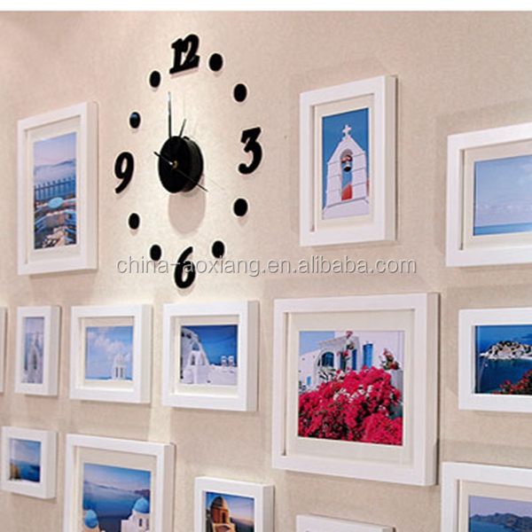 2014 Chinese new western style picture frame wall mounted photo booth
