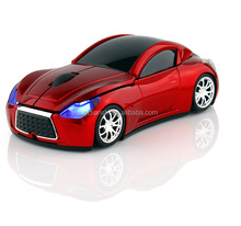 Fashioned car wireless mouse, car shape optical 2.4G wireless mouse