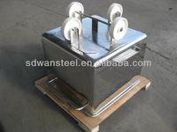 18-8 stainless steel meat buggy/cart/bin of 300L