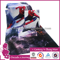 hot customized 4K digital printed beach towel lovely high quality movie promotion wholesale low moq fast delivery 100% cotton
