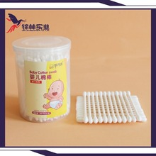 baby cotton buds natural disposable paper products double point cotton swabs
