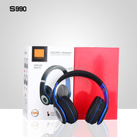 Portable Rechargeable Bluetooth Stereo Headphone With