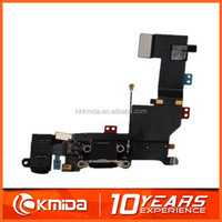Charging port flex cable dock connector USB port for iphone 5s