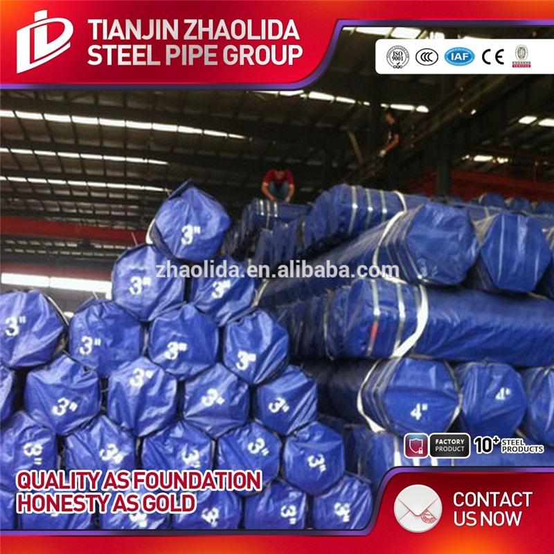 hot galvanized steel pipe 41mm round tube insert bs1387