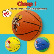 Best promotional size 7 pvc leather laminated training basketball