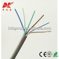 China Factory Price High Quality 2 or 4 core telephone cord cable by IEC standard