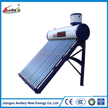 100L galvanized steel low pressure solar heating system