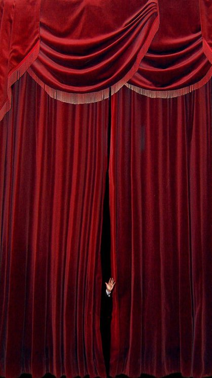 red velvet fire retardant blackout fabric black stage background curtains