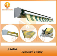 SA6100 3x2mretractable awning mechanism