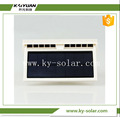 cool auto ventilation small size solar power car fan new function