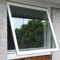 Australia standard low-e glass power coating cheap aluminum window