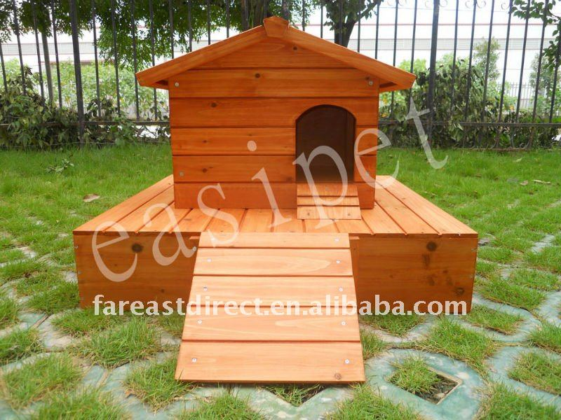 Wooden Duck House Coop