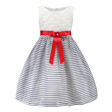 Hot sale baby girls summer wear children net frock design pictures of casual dress