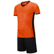Sublimated men football jersey dri fit uniforms custom club soccer jersey