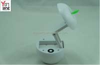 Rechargeable Retractable apple reading lamp and desk light