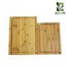 Home Kitchen Bamboo Cutting Board with Knife Sharpener FDA/LFGB Approved