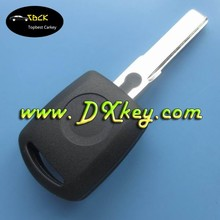 Best quality transponder chip key clone for skoda key shell Skoda transponder key no logo