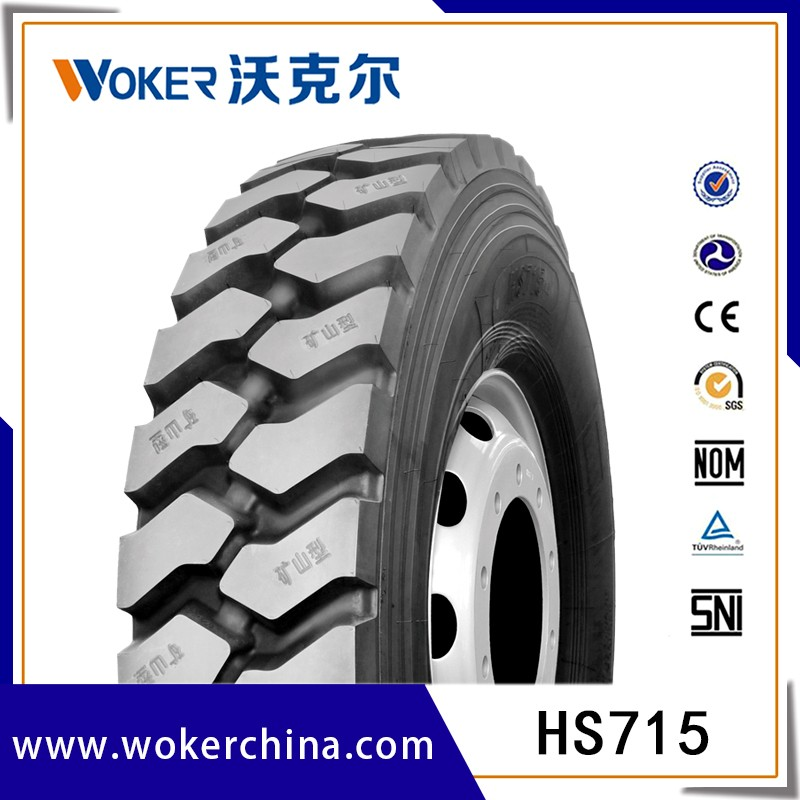 Radial Truck Tire 11R24.5 11R22.5 315/80R22.5 385/65R22.5 Trailer Tire with DOT ECE Label Smartway