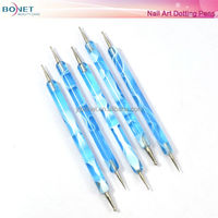 BNT0004 Double Head Multi-Function Colorful Nail Art Dotting Pen