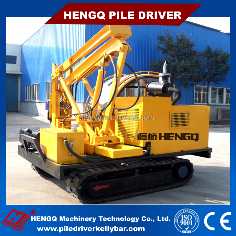 ground screw pile driver multifunction earth piling machine