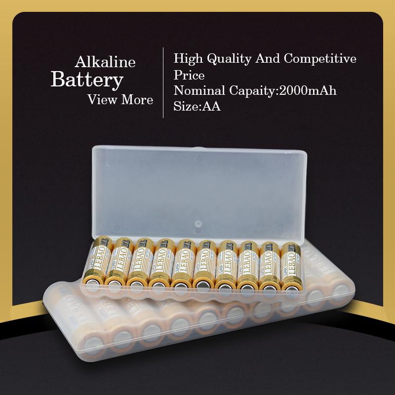 China Wholesale Super Power Long Service Life Pro-Environment 1.5V AA LR6 Dry Cell Battery Alkaline Car Battery