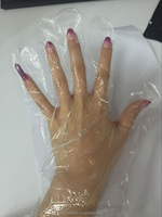 Transparent Cheap Checking Glove for Medical