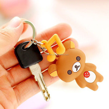 Custom promotional cheap pvc keychain with different shape