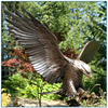 Outdoor Life Size Metal Eagle Statues for Sale