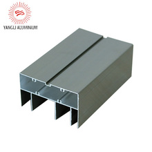 Aluminum profile for sliding doors and windows