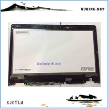 For Lenovo Yoga 3 14 assembly LP140WF3-SPL1 LCD with Touch Screen