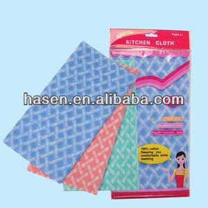 Gongdong factory direct sale classical wet / dry cleaning wipes/Guangzhou hasen cleaning wipe