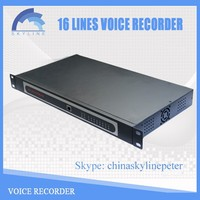 low cost 16 lines Digital Telephone Recorder
